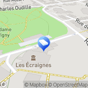 Carte de AXYS SA Nancy, France