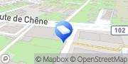Carte de Cuivretout SA Chêne-Bougeries, Suisse