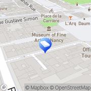 Carte de Faienceries Emaux de Longwy S A Nancy, France