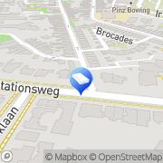 Kaart Uitzendbureau Hoekman BV Meppel, Nederland