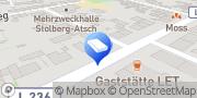 Karte Absolutschlager Stolberg, Deutschland