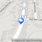 Karte GCZ Estriche Stolberg, Deutschland