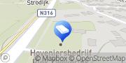 Kaart Piek Zweverink hoveniers Vorden, Nederland
