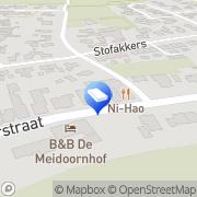 Kaart Booij Schildersbedrijf VOF Ruinen, Nederland