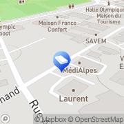 Carte de Laurent Père et Fils Albertville, France