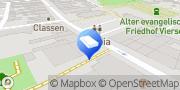 Karte LBS Immobilien GmbH NordWest Viersen, Deutschland