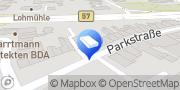 Karte Praxis für Logopädie Margo Boekema Mönchengladbach, Deutschland