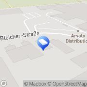 Karte Bodo Mack Reinigungssysteme Düren, Deutschland