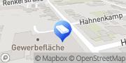 Karte Schirrmacher - Bad und Heizung Düren, Deutschland