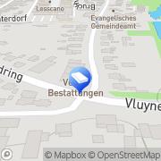 Karte Bestattungen VETTER GmbH Neukirchen-Vluyn, Deutschland