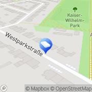 Karte B. Bachem Rechtsanwalt Krefeld, Deutschland