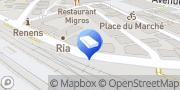 Carte de Beauty Shop Poga Renens, Suisse