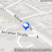 Karte R. Peitz Krefeld, Deutschland