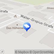 Karte bittner höhenzugang GmbH Bergheim, Deutschland