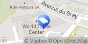 Carte de World Trade Center Lausanne WTCL Services SA Lausanne, Suisse