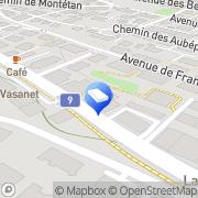 Carte de Gremper Roger SA Lausanne, Suisse