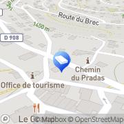Carte de La Poste Allos, France