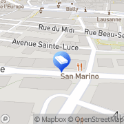 Carte de SIG Sécurité Lausanne, Suisse
