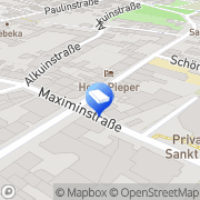 Karte CADAQUI Trier, Deutschland