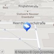 Karte BAUEN+LEBEN GmbH & Co. KG Neuss, Deutschland