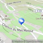 Carte de Arelec Morzine, France