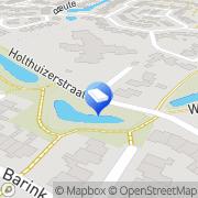 Kaart Kinderopvang Humanitas SKE - Peuteropvang en BSO De Holthuizen Haaksbergen, Nederland