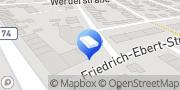 Karte Town & Country Haus - RSK Massivhaus GmbH & Co.KG Dillingen/ Saar, Deutschland