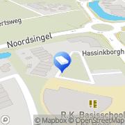 Kaart Kinderopvang Humanitas SKE - Kinderdagverblijf, POV en BSO Los Hoes Haaksbergen, Nederland
