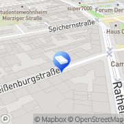 Karte EL-DA-NET Elektro- und Datentechnik GmbH Düsseldorf, Deutschland