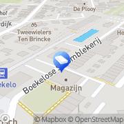 Kaart Kinderopvang Humanitas SKE - Kinderdagverblijf Boekeloo Centraal Enschede, Nederland