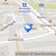 Karte JK Fliesendesign Meisterbetrieb Düsseldorf, Deutschland