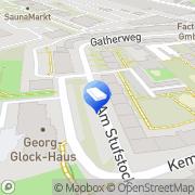 Karte Günter Pelny Düsseldorf, Deutschland