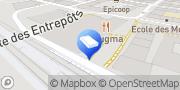 Carte de Dessange Paris Vevey, Suisse
