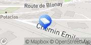 Carte de Coigny SA Vevey, Suisse