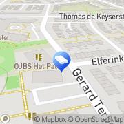 Kaart Hummeltjeshonk Peuterspeelzaal Enschede, Nederland