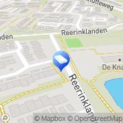 Kaart Kinderopvang Humanitas SKE - Peuteropvang De Vlinders (Meerlanden) Enschede, Nederland