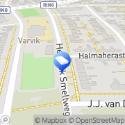 Kaart Kinderopvang Humanitas SKE - Peuteropvang Baloe Enschede, Nederland