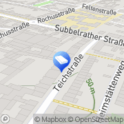 Karte Kiwi Services Köln, Deutschland