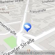 Karte Sanitär-Heizung Kuck Köln, Deutschland