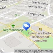 Kaart Kinderopvang Humanitas SKE - Peuteropvang Het Lönnke Grut Enschede, Nederland