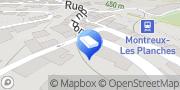Carte de J. Fasero Sàrl Montreux, Suisse