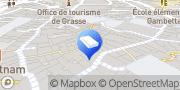 Carte de TAF Habitat Grasse, France