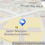 Karte GLS-Paketshop Zollstock Köln, Deutschland