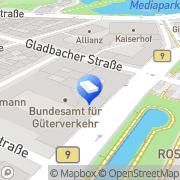 Karte AREI Kanal-Service GmbH Köln, Deutschland