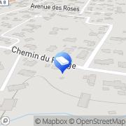 Carte de POINT SERVICE MINUTE Mougins, France