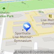 Karte Websiteraketen Leverkusen, Deutschland