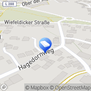 Karte Gisela Luchtenberg Solingen, Deutschland