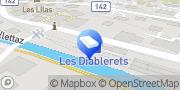 Carte de Multilocation Voirol Sàrl Les Diablerets, Suisse