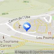 Carte de Boulogne Huard Cote d'Azur Carros, France