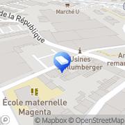 Carte de Ac2Pe Guebwiller, France
